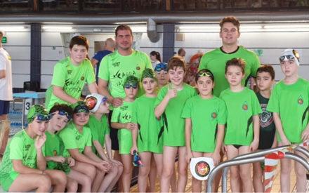 El Club deportivo Aqua consigue tres medallas en el Campeonato Provincial de Natación prebenjamín, benjamín y alevín