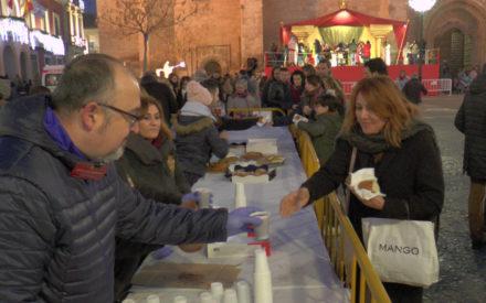 La Bolsa de Caridad de la Hermandad de Misericordia y Palma celebra el XII Roscón Solidario