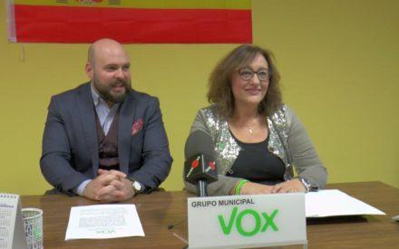 Rueda de Prensa Grupo Municipal VOX de Valdepeñas