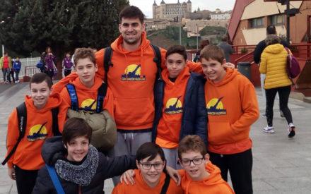 El C.N. Valdepeñas vuelve a subirse al podium en los campeonatos regionales de invierno prebenjamín, benjamín y alevín