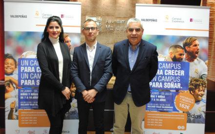 Valdepeñas acogerá en exclusiva este verano el Campus Experience de la Fundación Real Madrid