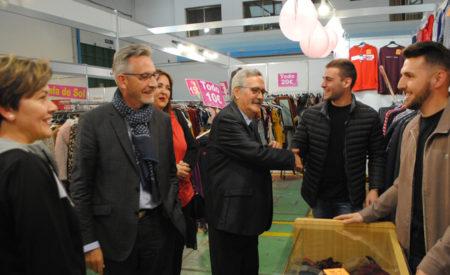 Jesús Martín inaugura la 17ª 'Feria del Stock' de Valdepeñas con récord de stands y expositores