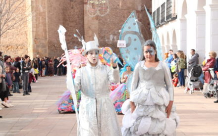 Los más pequeños protagonizaron el martes de carnaval  en Manzanares