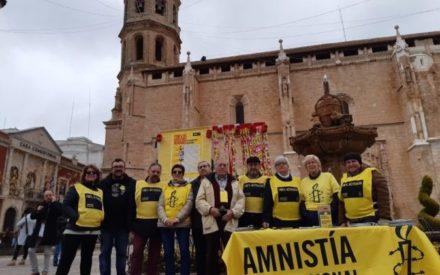 Solidaridad en Valdepeñas con los defensores y defensoras de derechos humanos por el Año Nuevo chino