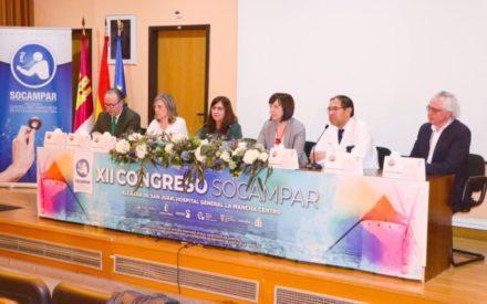Regina Leal ha inaugurado el XII Congreso de la Sociedad Castellano-Manchega de Patología Respiratoria en Alcázar de San Juan