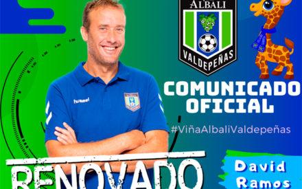 David Ramos seguirá al mando del conjunto azulón