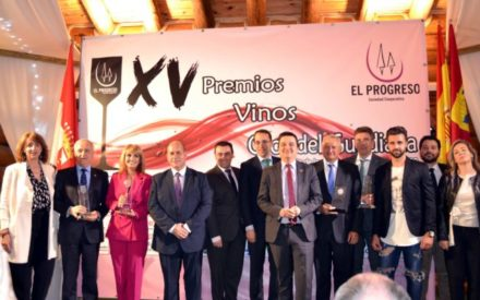 Francisco Martínez Arroyo asiste a los XV Premios 'Vinos Ojos del Guadiana' de la Cooperativa El Progreso en Villarrubia de los Ojos