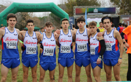Dos equipos del Valdepeñas Athletics Club estarán en el Campeonato de España de Cross por clubes