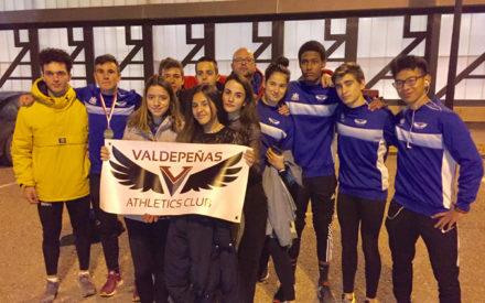 Valdepeñas Athletics Club cuarto en el Campeonato de CLM de pista cubierta por clubes