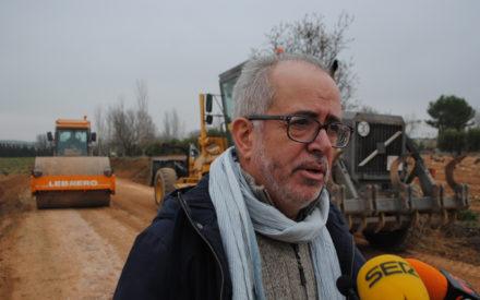 Agricultura arregló durante el pasado año 34 kilómetros de caminos rurales en Valdepeñas