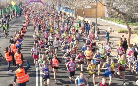 La Media Maratón de Valdepeñas brilló en su 25 aniversario