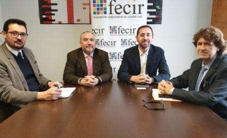 El Gobierno de CLM traslada a FECIR las acciones que el Instituto de Promoción Exterior pone a disposición de los empresarios