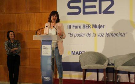 Blanca Fernández  participa en III Foro SER Mujer en Ciudad Real 'El poder de la voz femenina'