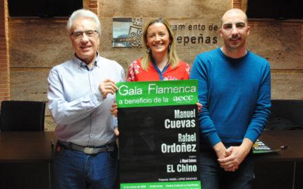 La Confianza acoge el 13 de marzo una Gala Flamenca a beneficio de la AECC con Manuel Cuevas, Rafael Ordóñez y 'El Chino'
