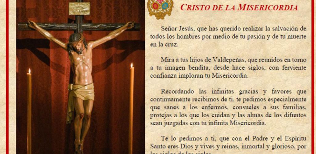 Misericordia y Palma continuará realizando una Oración de Rogativas al Stmo. Cristo de la Misericordia hasta que se consiga el final de la pandemia que asola nuestro país