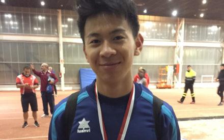 Anbo Xu del Valdepeñas Athletics Club 10º en el Campeonato de España Sub-18