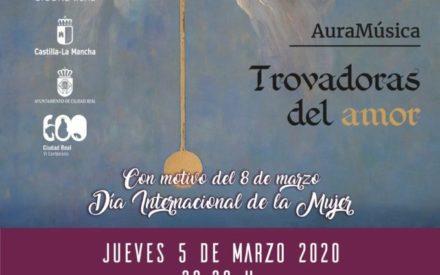 AuraMusica trae al escenario del Antiguo Casino de Ciudad Real el legado cultural de las beguinas