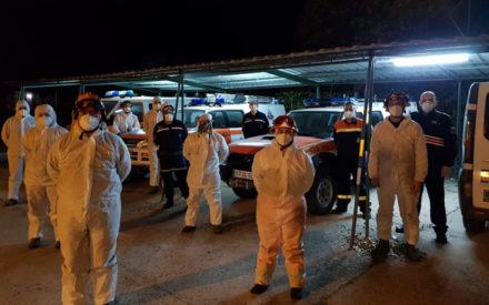Protección Civil de Valdepeñas despliega sus unidades para las tareas de desinfección