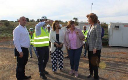 Las obras de la depuradora que el Gobierno de CLM construye en Argamasilla de Calatrava cumplen los plazos de ejecución