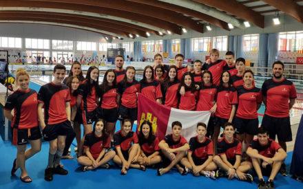 La selección de CLM lidera la categoría femenina en el Campeonato de España de Natación Adaptada por CC.AA