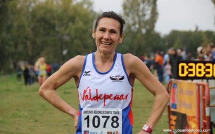 Patricia Sáez logra la medalla de bronce en el Campeonato de España Master de Cross