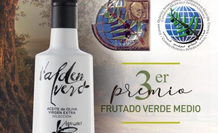 COLIVAL hace historia en los Premios Mario Solinas Internacional, del Consejo Oleícola Internacional 2020, en frutado verde medio
