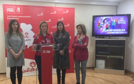 El PSOE de Valdepeñas participará en los actos convocados para conmemorar el Día de la Mujer