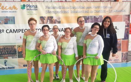Las deportistas del PUERTA DEL VINO consiguen 4 medallas en el Regional de Gimnasia Rítmica