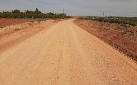Arreglo de caminos rurales en Villanueva de los Infantes