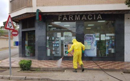 GEACAM ha realizado un total de 958 intervenciones de desinfección en Ciudad Real y 179 actuaciones en residencias de mayores