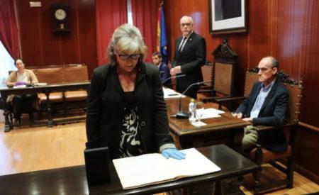 Pilar Maeso ha tomado posesión como concejala de UCIN en Manzanares en el Pleno celebrado a puerta cerrada