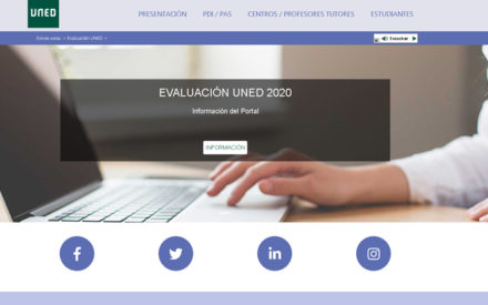 La UNED elabora un plan de actuación para la gestión de la evaluación del curso 2019/20 con un sistema de evaluación continua de exámenes en línea