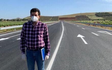 Valdepeñas estrena en junio el nuevo vial que abre caminos a su Parque Empresarial