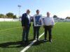 Julián Nieva felicita al Manzanares CF por su ascenso a Tercera División