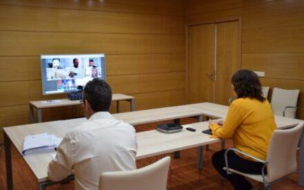 Patricia Franco se ha reunido de manera telemática con ATA, CEAT, UATAE y UPTA