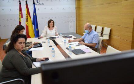 Patricia Franco se ha reunido por videoconferencia con una veintena de representantes del Tercer Sector