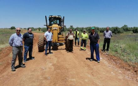 Villahermosa arregla más de 9 kilometros de caminos apoyándose en la Junta de Comunidades y Diputación