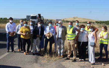 El Gobierno de CLM inicia las obras de mejora en la carretera que une Bolaños y Daimiel