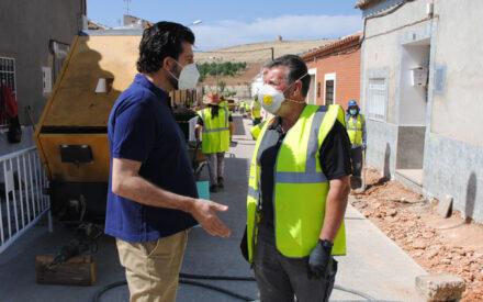 70 desempleados comienzan a trabajar en la primera fase de los Planes de Empleo de Valdepeñas
