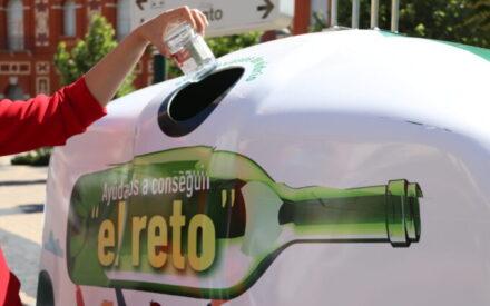 Manzanares se suma al reto solidario 'Juntos reciclamos vidrio'
