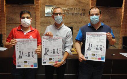 Valdepeñas acoge el II Open Internacional de Ajedrez incrementando las medidas de seguridad
