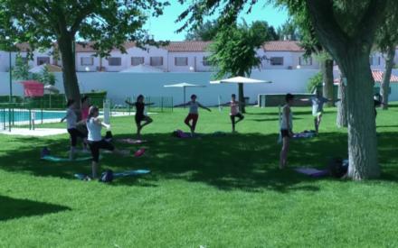 Inicio de las actividades deportivas municipales en Manzanares con medidas higiénicas