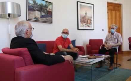 La Escuela de Ciudadanía de Manzanares expone a Nieva cambios para el próximo curso