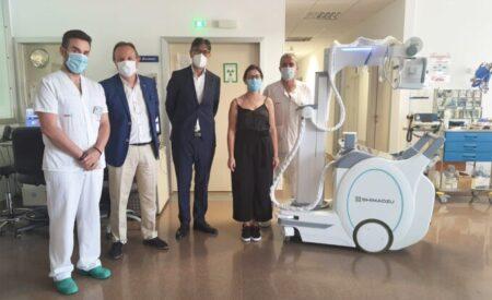 El Gobierno de CLM refuerza la capacidad diagnóstica del Hospital de Tomelloso con un nuevo equipo de radiología portátil