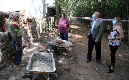 El director general de Programas de Empleo ha visitado el Plan de Empleo en Santa Cruz de Mudela