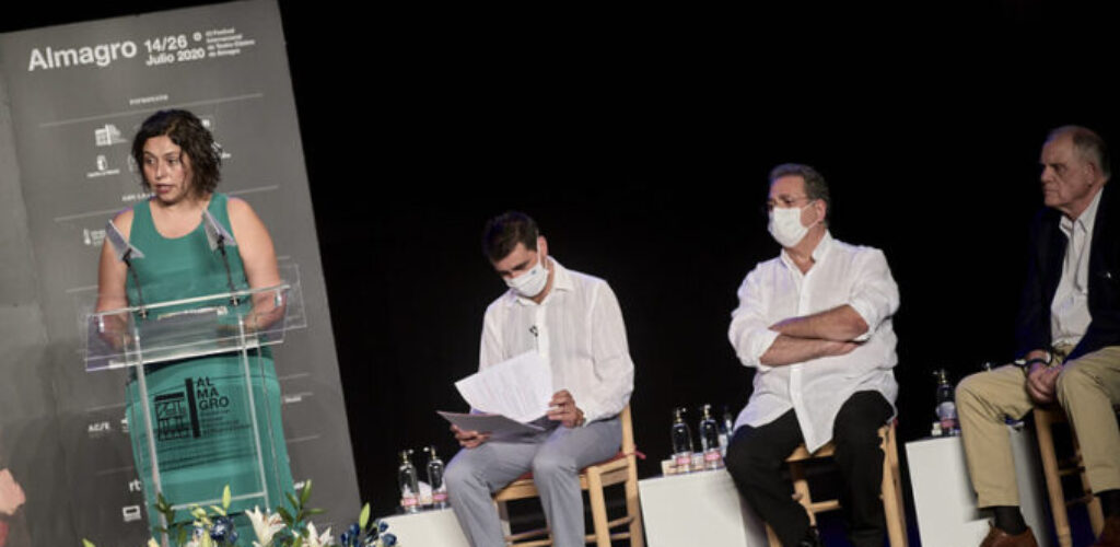 Homenaje del Festival Internacional de Teatro Clásico de Almagro a Paco Leal