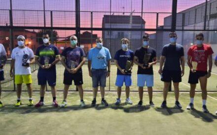 Finalizados los Torneos veraniegos de Tenis y Pádel en las pistas municipales de Villanueva de los Infantes