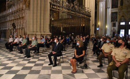"""García-Page recuerda a los fallecidos, víctimas de la Covid, y agradece el trabajo de """"aquellos que siguen en la batalla contra el virus"""""""