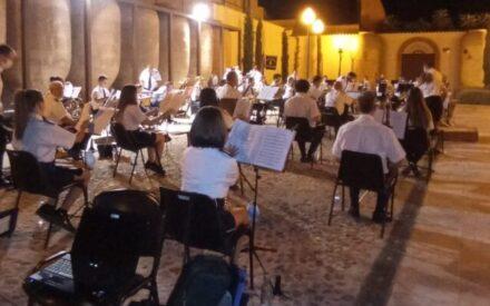"""La Agrupación Musical Maestro Ibáñez pone el broche de oro a """"Las Noches de A7"""""""