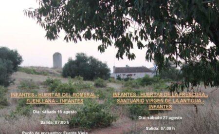 Las Concejalías de Deportes y Patrimonio  de Villanueva de los Infantes organizan 'Senderos de Cultura'